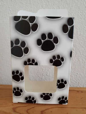 Paw Print Treat Box