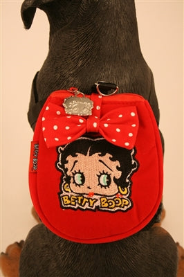 Betty Boop Backpack - Betty Boop Canine Couture