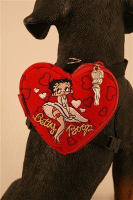 Betty Boop Heart-Shaped Backpack (03)