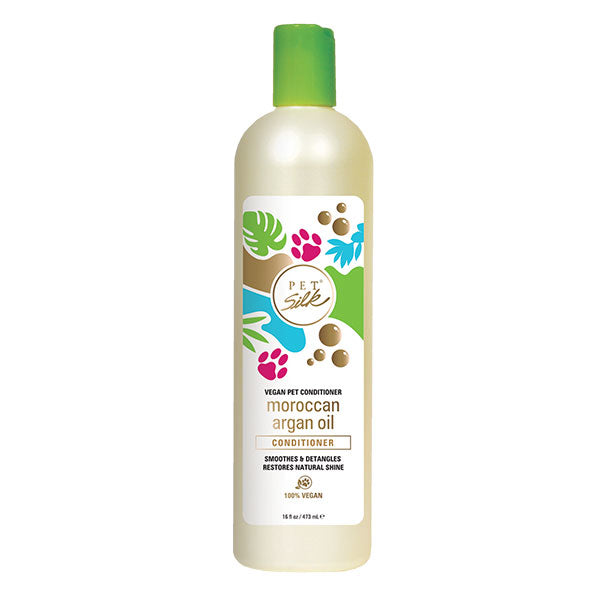 PET SILK VEGAN MOROCCAN ARGAN OIL CONDITIONER