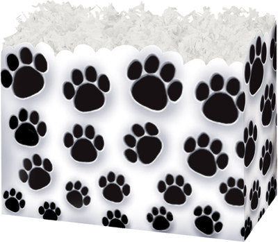 Paw Prints Basket Boxes