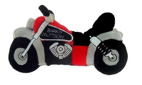 Barkly Muttson Motorcycle Plush Dog Toy