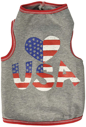 Heart USA Tank T-shirt - I See Spot
