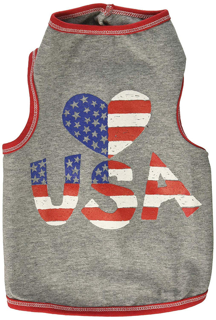 Heart USA Tank T-shirt