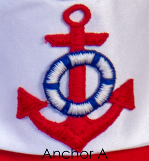 Nautical Girl Dress - Anchor A Selection