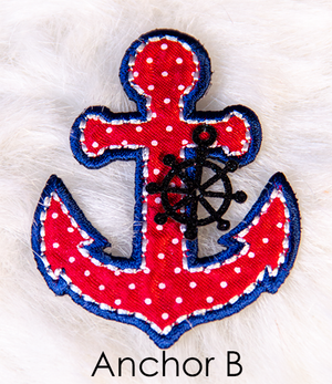Nautical Girl Dress - Anchor B Selection