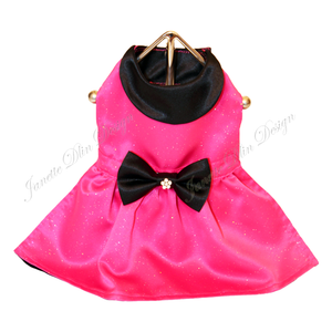 Arabella Fuchsia Dog Dress - Janette Dlin Design