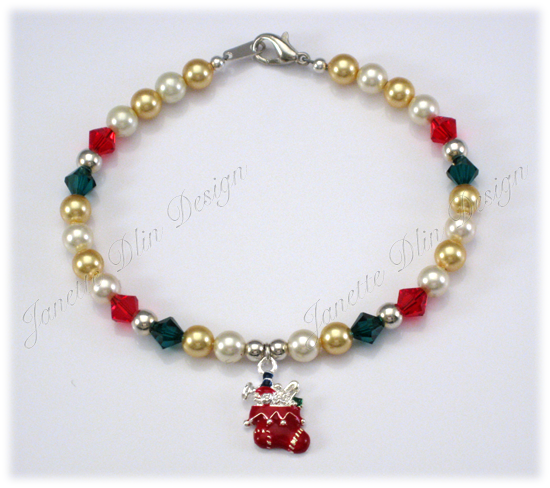 Christmas Stocking Necklace