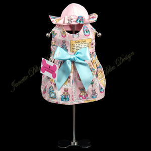 Easter Girl Dress - Janette Dlin Design