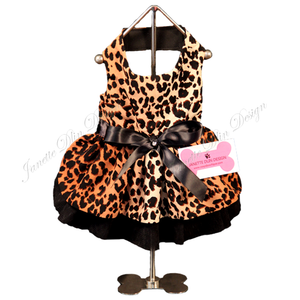 Safari Girl: Leopard Dress - Janette Dlin Design