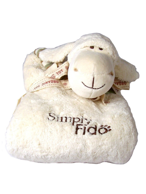 Lolly Lamb Organic Puppy Blanket - Simply Fido
