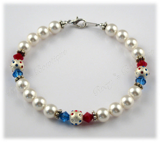 Patriotic Colors Necklace