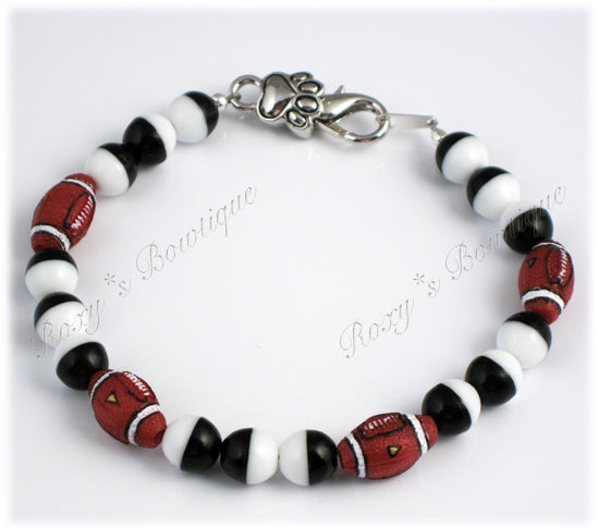 Super Football Doggie Necklace