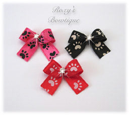 Baby Paws Dog Bow - Baby Dog Bow