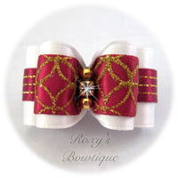 Fancy Christmas - Adult Dog Bow