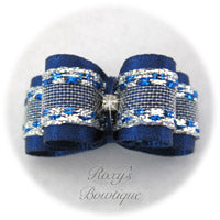 Winter Wonder - Puppy Dog Bow