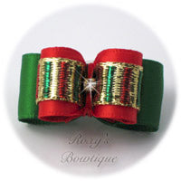 Holiday Cheer - Puppy Dog Bow