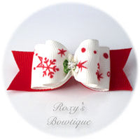 Christmas Star - Adult Dog Bow