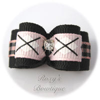 Pink and Black Plaid Designs