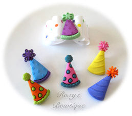 Birthday Party Hats - Adult Dog Bow