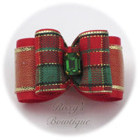 Christmas Eve - Adult Dog Bow