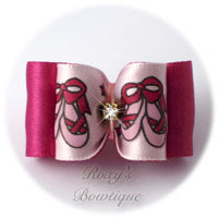Ballet slipper Dog Bow