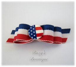 Old Glory-Puppy Dog Bow