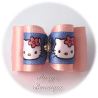 Hello Kitty Dog Bow - Light Pink