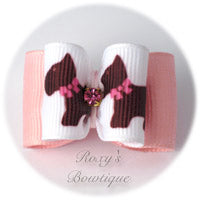 Fancy Pooch Dog Bow - Adult Dog Bow