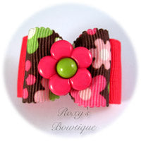 Passion Flower - Adult Dog Bow