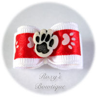 White and Red with White Paw