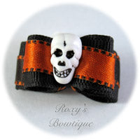 Halloween Fright - Puppy Dog Bow