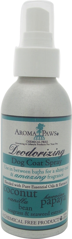 Coconut Papaya Deodorizing Coat Spray - Aroma Paws