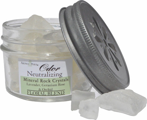 Odor Neutralizing Rock Crystals - Floral Blend