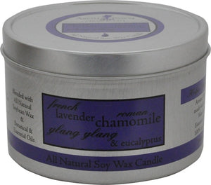 Lavender Chamomile Travel Tin Candle