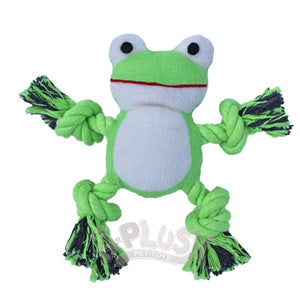 Kermey the Frog Dog Toy - A-Plush Toys