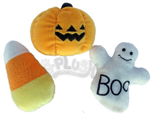 Lil' Plush Halloween Dog Toy Set of 3 toys