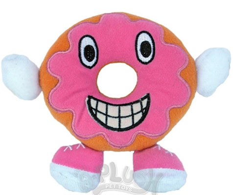 Lil' Plush Jolly Donut Dog Toy - A-Plush Dog Toys