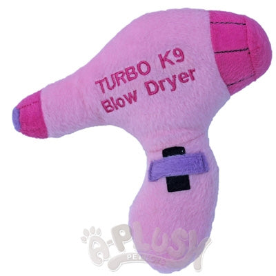 Turbo K9 Blow Dryer Dog Toy - A-Plush Dog Toys