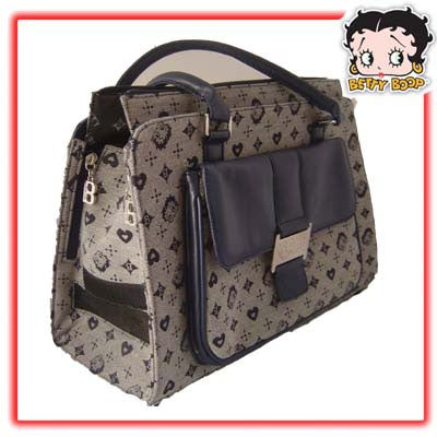 Betty Boop Blue Dog Carrier