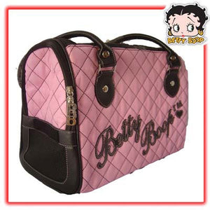 Betty Boop Pink Dog Carrier