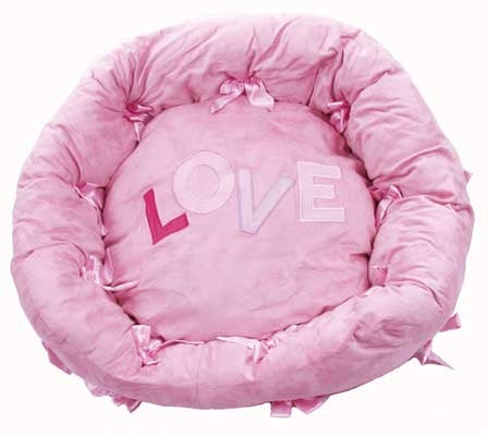 Lovin Stuff Plush Sleeper - Dog Bed - Cha-Cha Couture