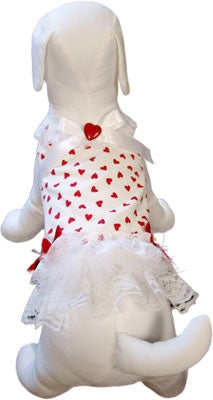 My Valentine Dog Dress - Cha-Cha Couture
