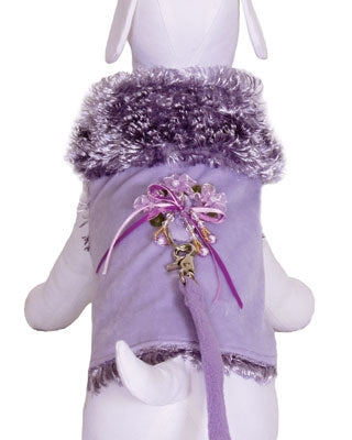 Lady Lavender Dog Coat - Cha-Cha Couture
