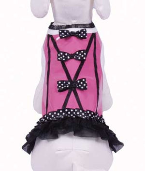 Polka Fun Dog Corset - Cha-Cha Couture