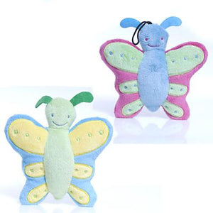 Doozie Butterfly Buddies Dog Toy