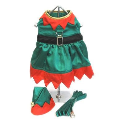 Elf Girl Dog Dress - Doggie Design