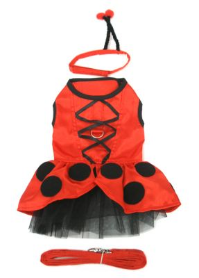 Lady Bug Fairy Costume - Doggie Design