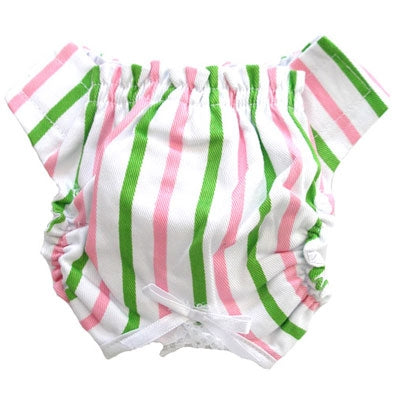 """Beverly Hills Chihuahua"" Pink & Green Striped Panties"