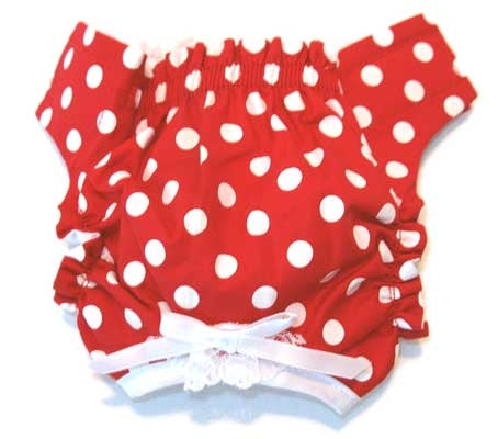 Red/White Polka Dot Panties